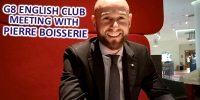 26.03 // Бесплатный практикум английского языка G8 English Club // Знакомство с Pierre Boisserie, Cluster Food&Beverage Director in Pullman & Mercure Sochi Center. - PrivetSochi.Ru